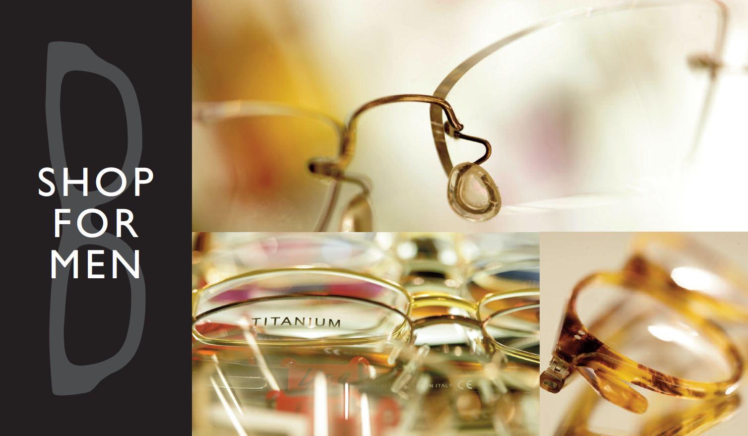 Optical For Men - Eye Care